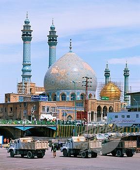 Qom, in  West Iran