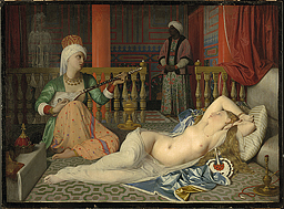 Odalisque with a Slave - Fogg Art Museum