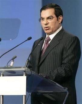 Zinedine Ben Ali, TunisianDictator.