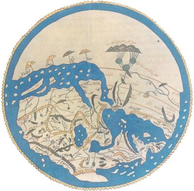 al-Idrisi World Map 1154 About MedievalHistory